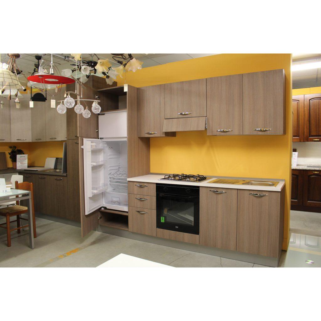 Cucina componibile economica Easy 2 - Valvaraita Stock e arredamenti